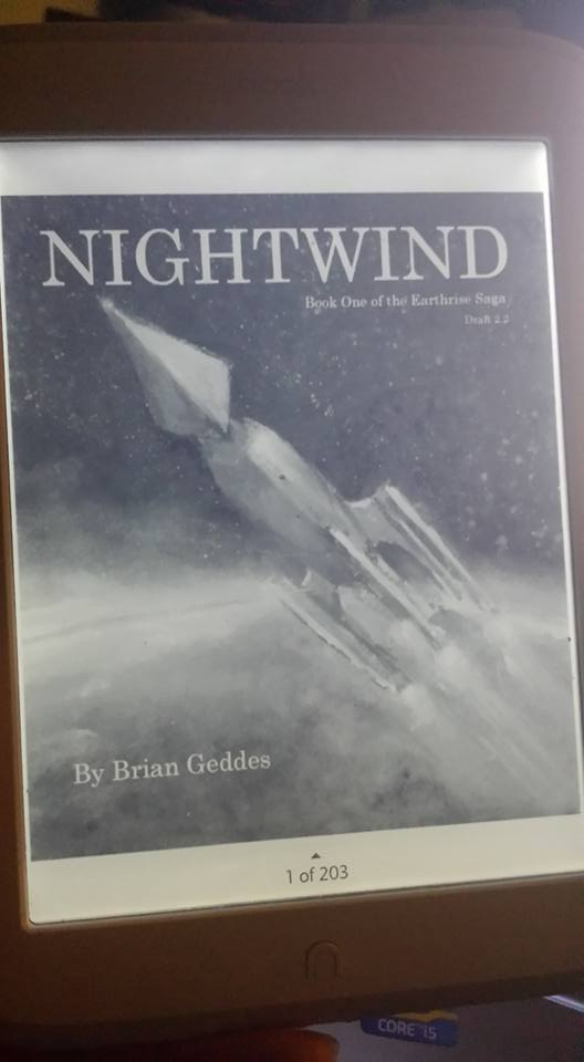 Nightwind Cover Mockup